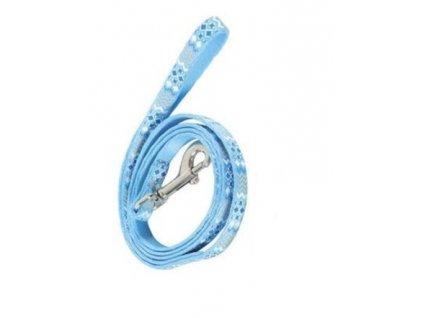 Nylonové vodítko ETHNIC –modré 1 m