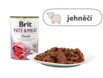 Brit Pate and Meat Lamb menší konzerva