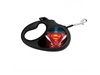 Samonavíjecí vodítko SUPERMAN – S, 5 m DOPRODEJ