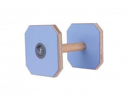 Činka dřevěná modrá
