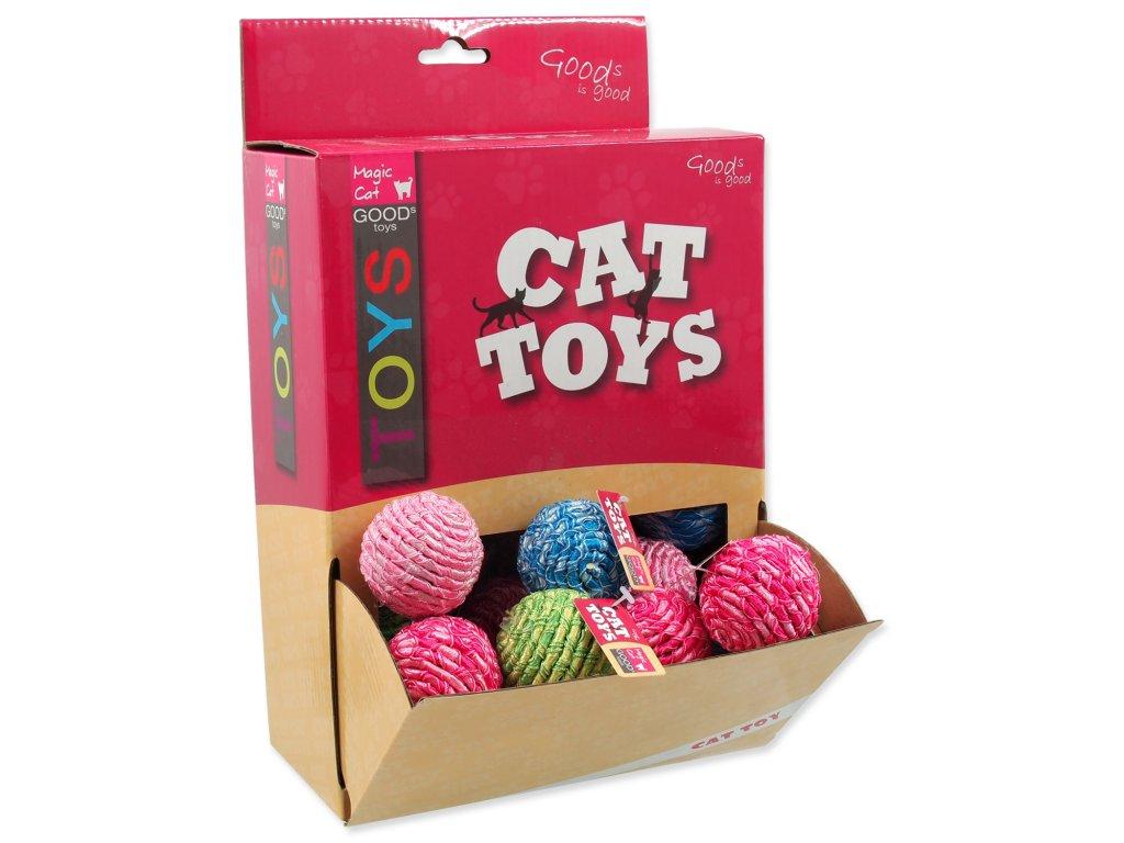 Hračky MAGIC CAT míček bavlněný 4 cm