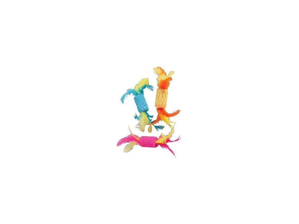 Hračka kočka Elastic Candy mix barev Zolux