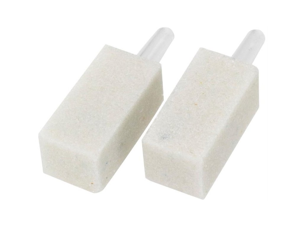 Vzduchovací kámen - hranol, bílý 3x1,5x1,5cm, 2ks Duvo+