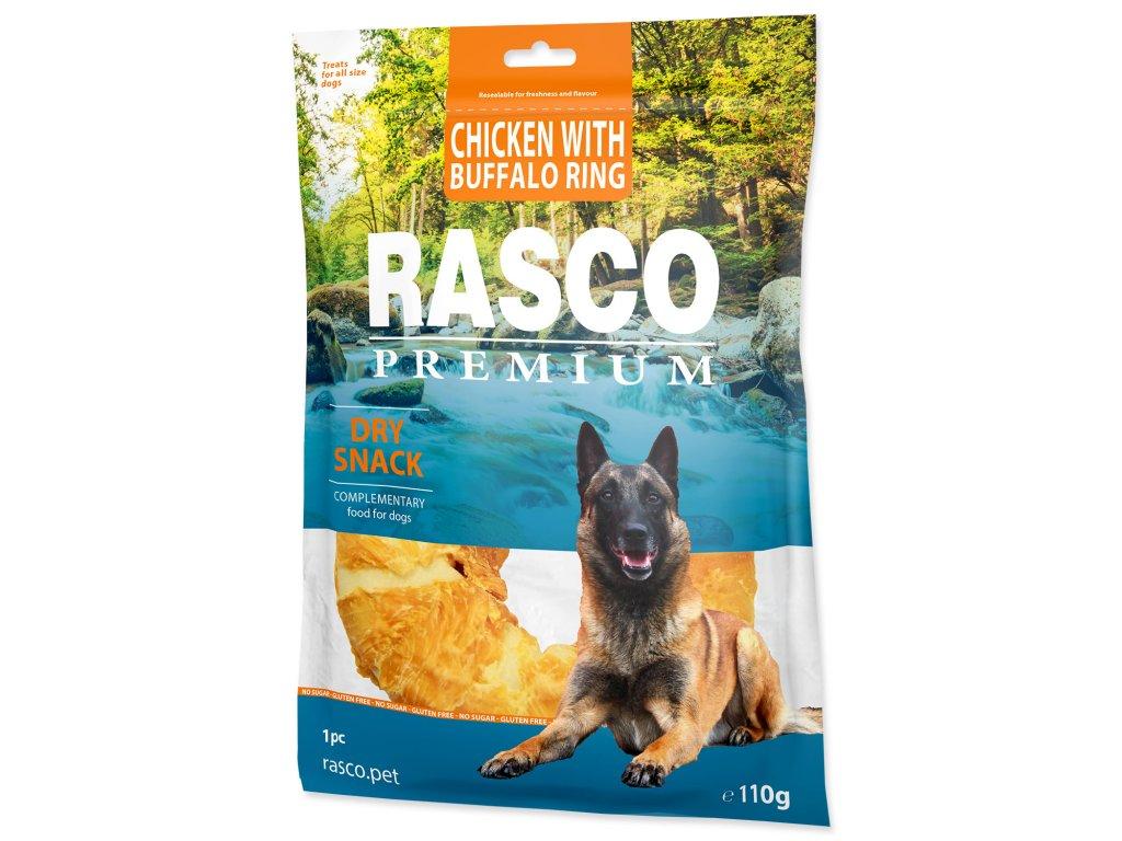Pochoutka RASCO Premium kruh bůvolí obalený kuřecím masem