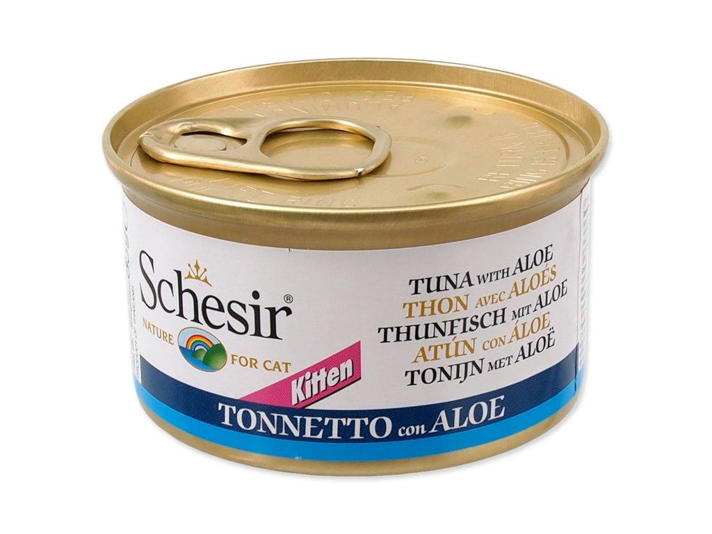 Konzerva SCHESIR Kitten tuňák + aloe