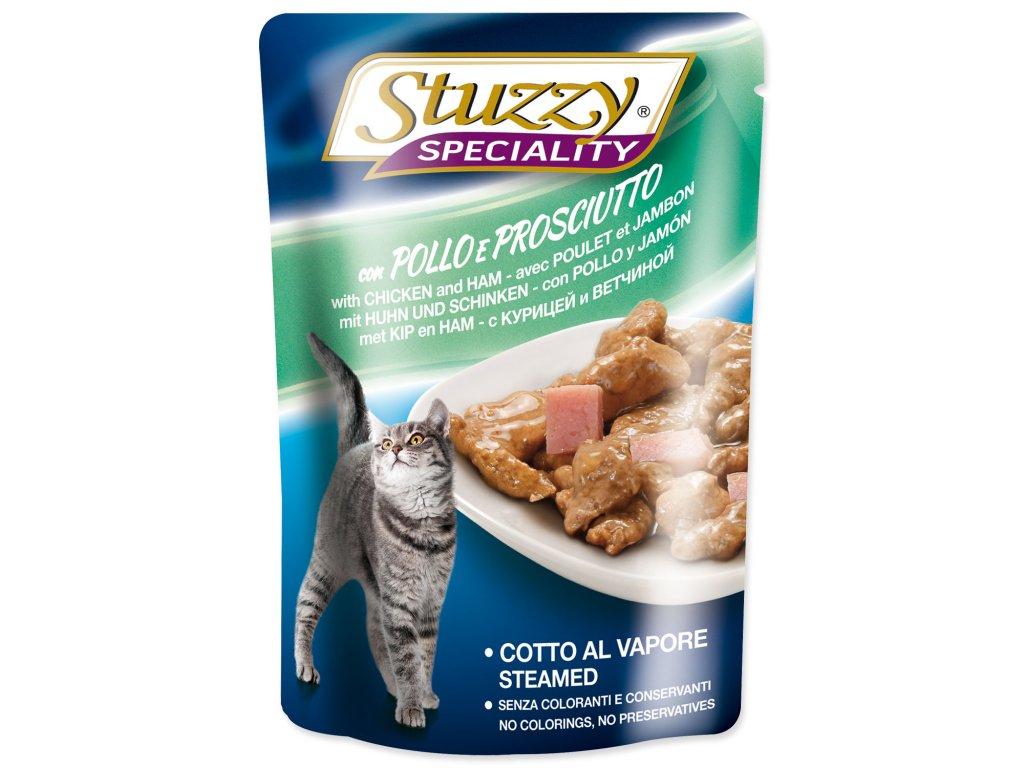Kapsička STUZZY Cat Speciality kuře + šunka