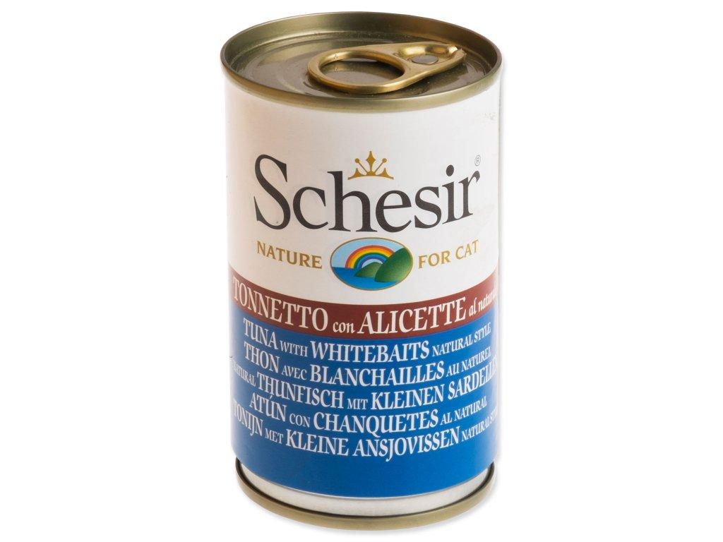 Konzerva SCHESIR Cat tuňák + sleď