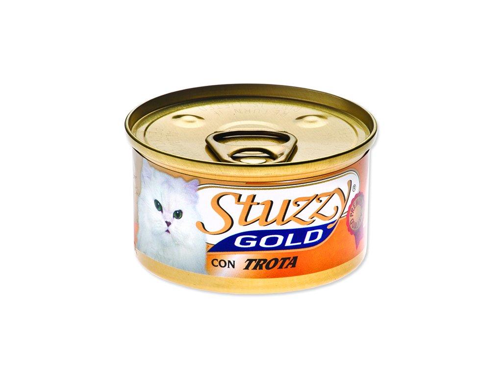 Konzerva STUZZY Cat Gold pstruh