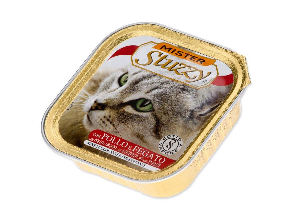 Vanička MISTER STUZZY Cat kuřecí + játra