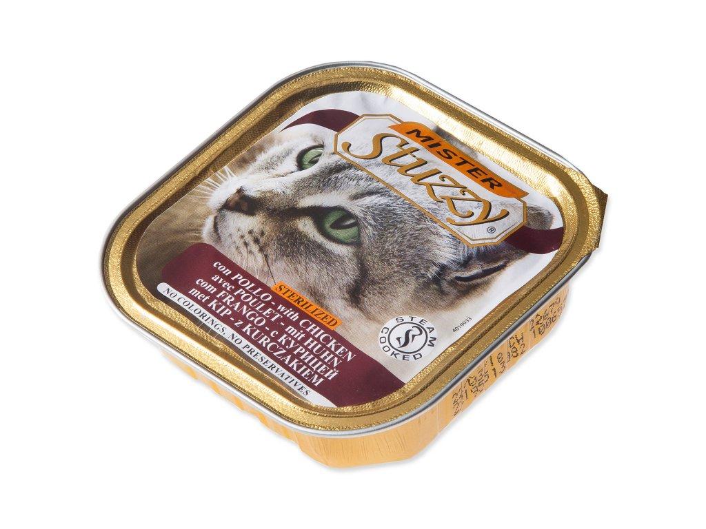 Vanička MISTER STUZZY Cat pro sterilizované kočky kuřecí