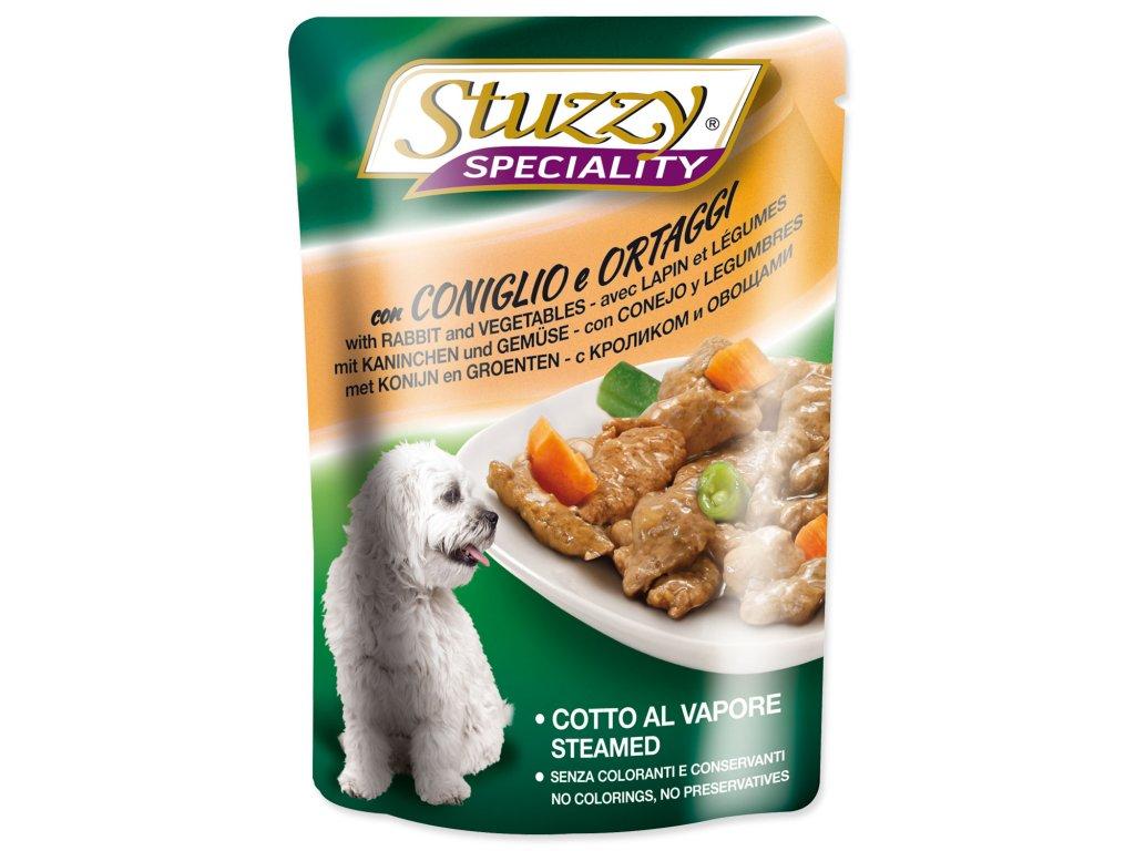 Kapsička STUZZY Dog Speciality králík + zelenina