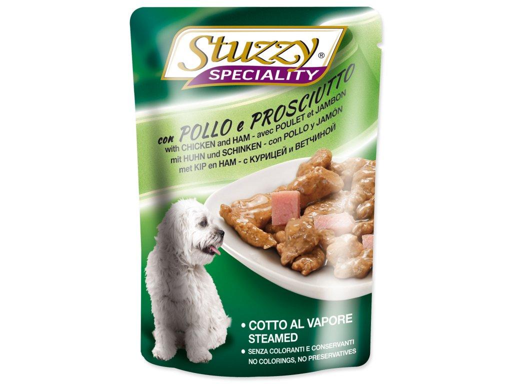 Kapsička STUZZY Dog Speciality kuře + šunka