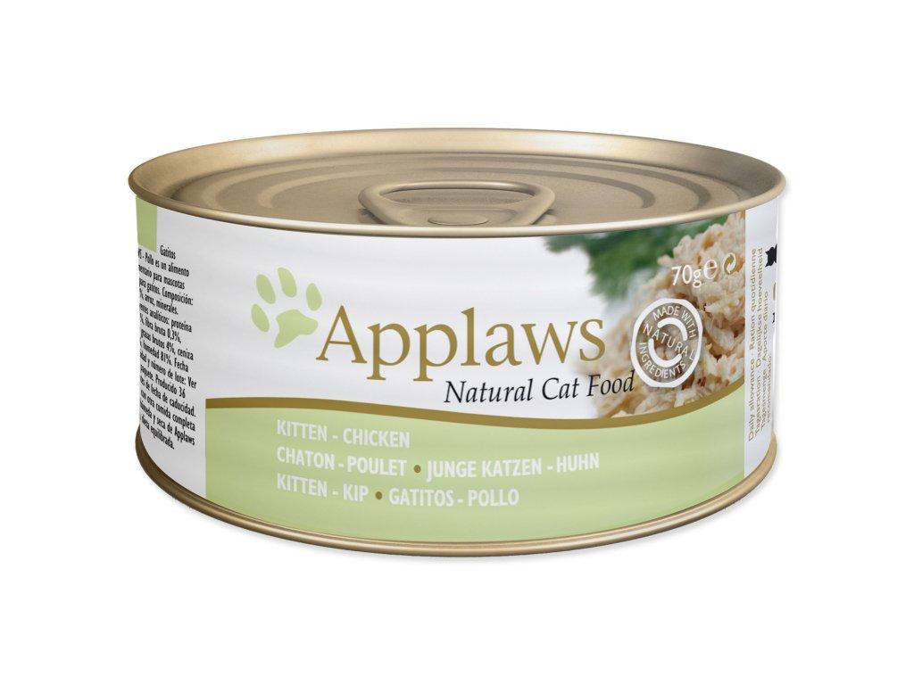 Konzerva APPLAWS Kitten Chicken