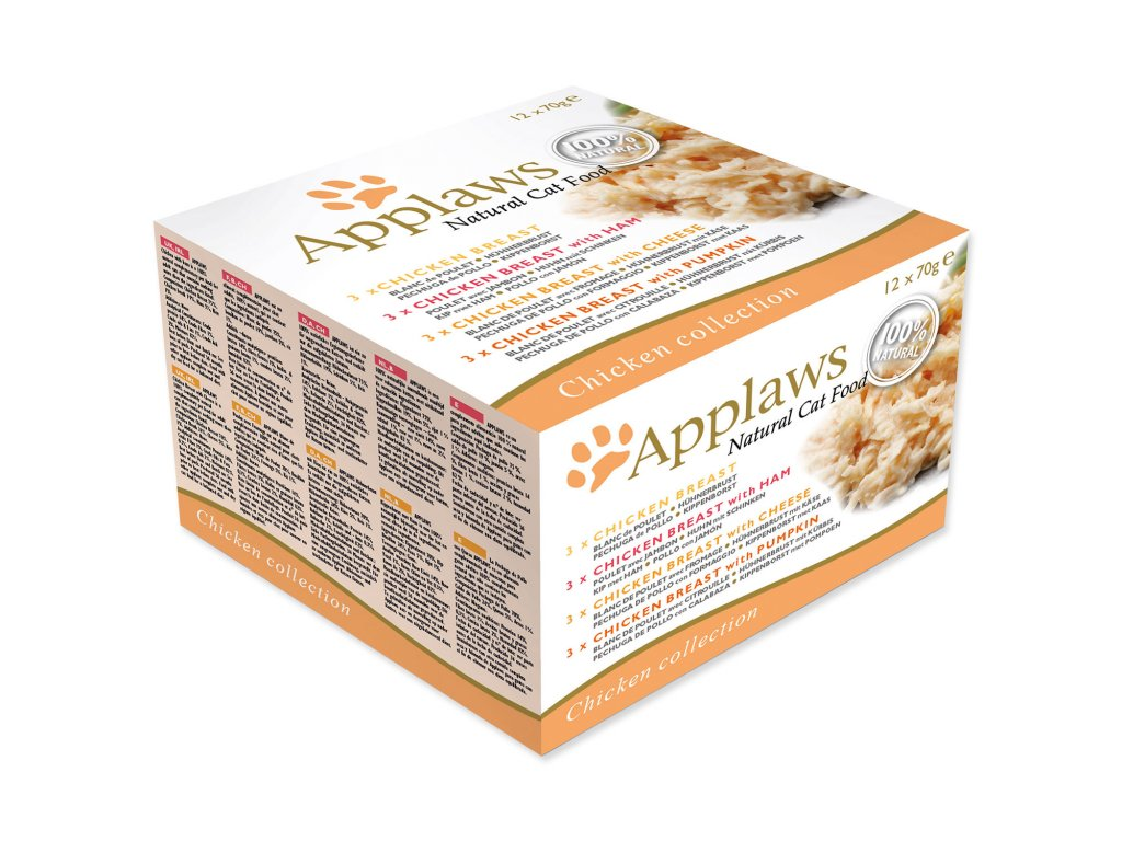 Konzervy APPLAWS Cat Chicken Selection multipack