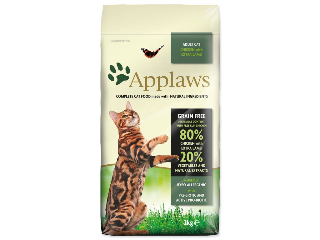 APPLAWS Dry Cat Chicken with Lamb