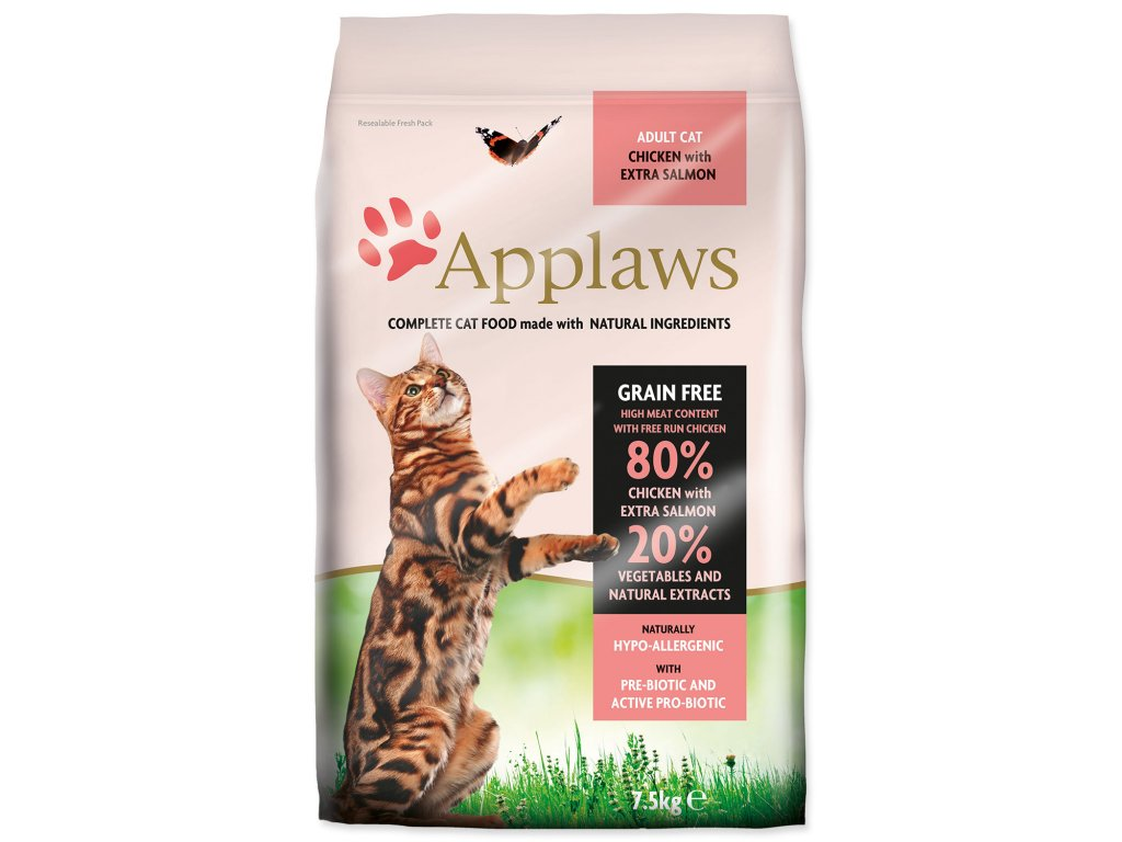 APPLAWS Dry Cat Chicken & Salmon
