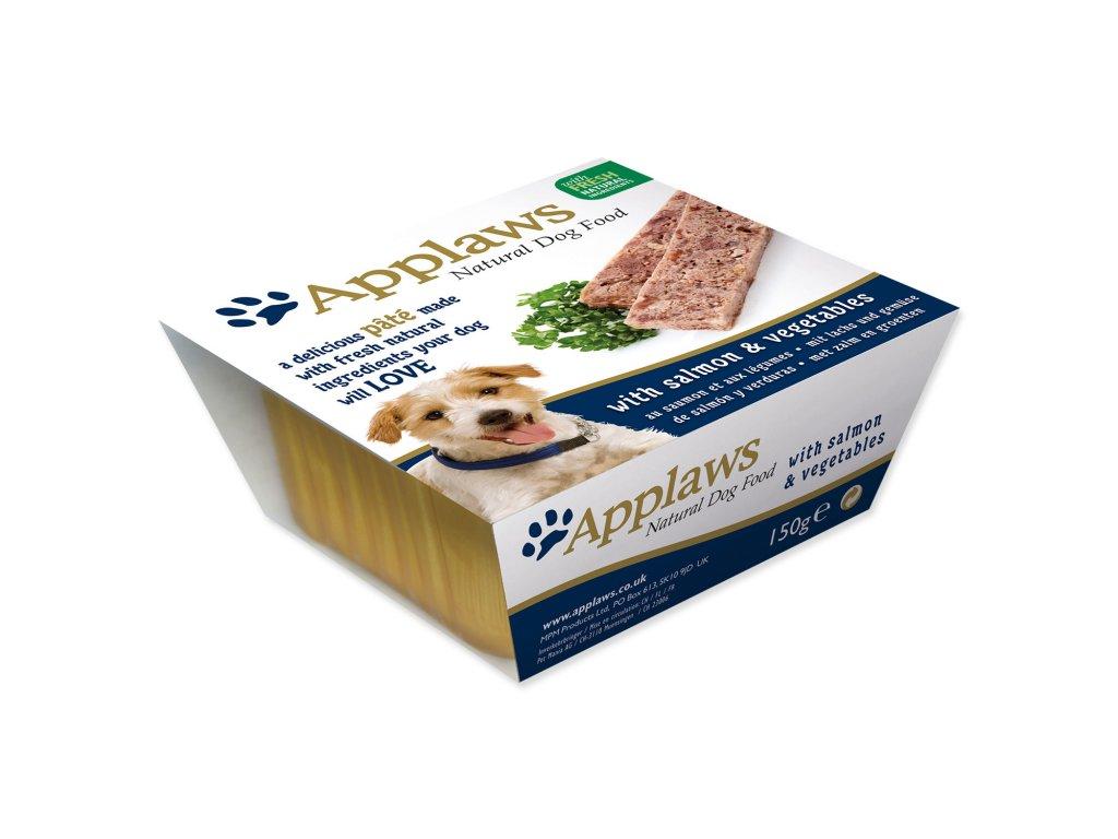Paštika APPLAWS Dog Pate with Salmon & Vegetables