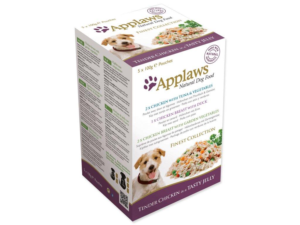 Kapsičky APPLAWS Dog Jelly Finest Selection multipack
