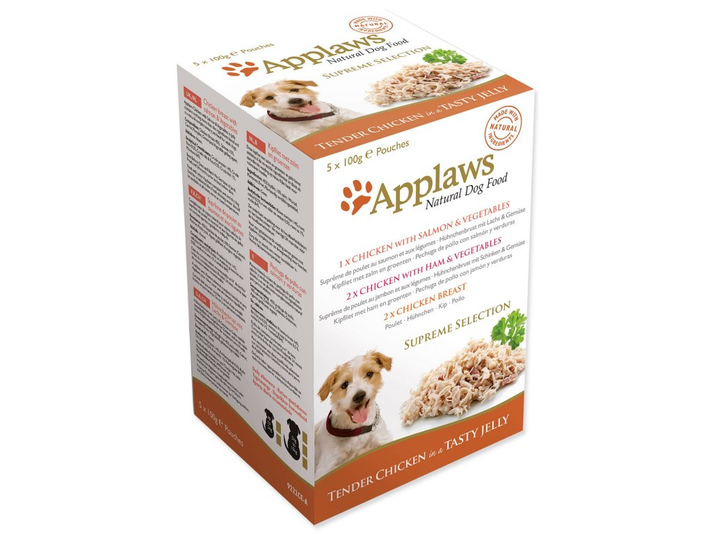 Kapsičky APPLAWS Dog Jelly Supreme Selection multipack