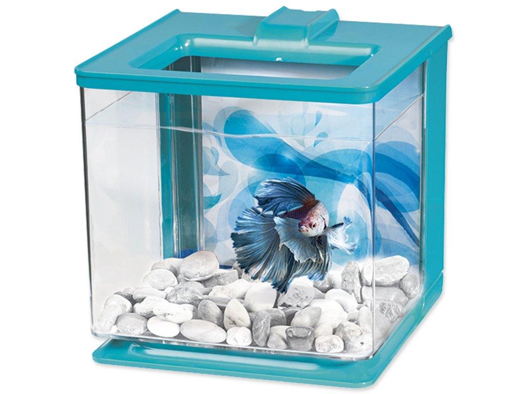 Akvárium MARINA Betta EZ Care Kit modré