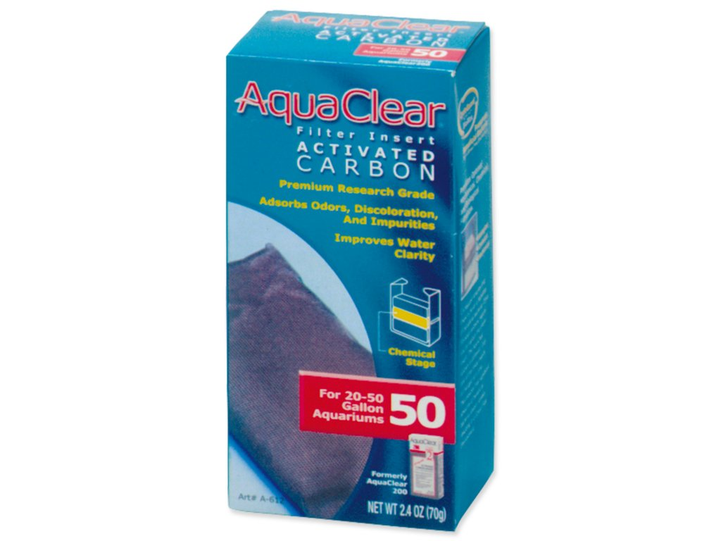 Náplň uhlí aktivní AQUA CLEAR 50 (AC 200)