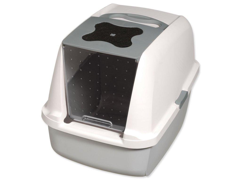Toaleta CATIT Design šedá 56 cm