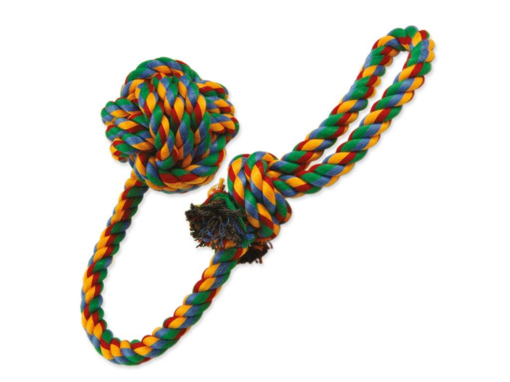 Přetahovadlo DOG FANTASY házecí barevné 55 cm
