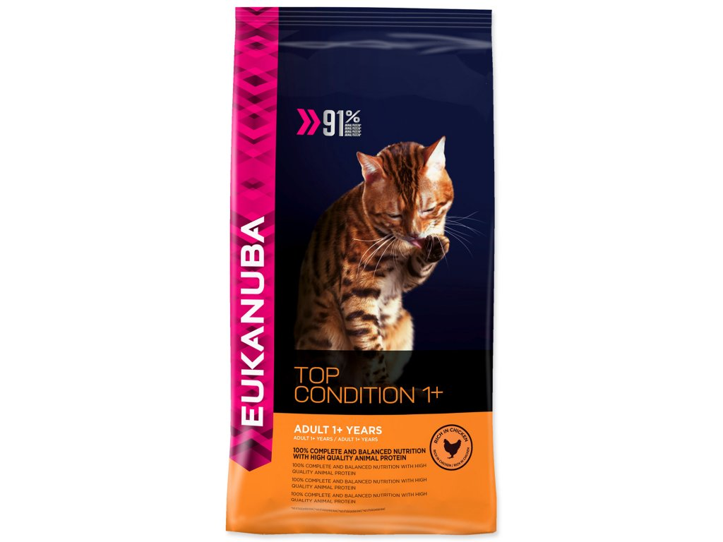 EUKANUBA Cat Adult Top Condition 1+