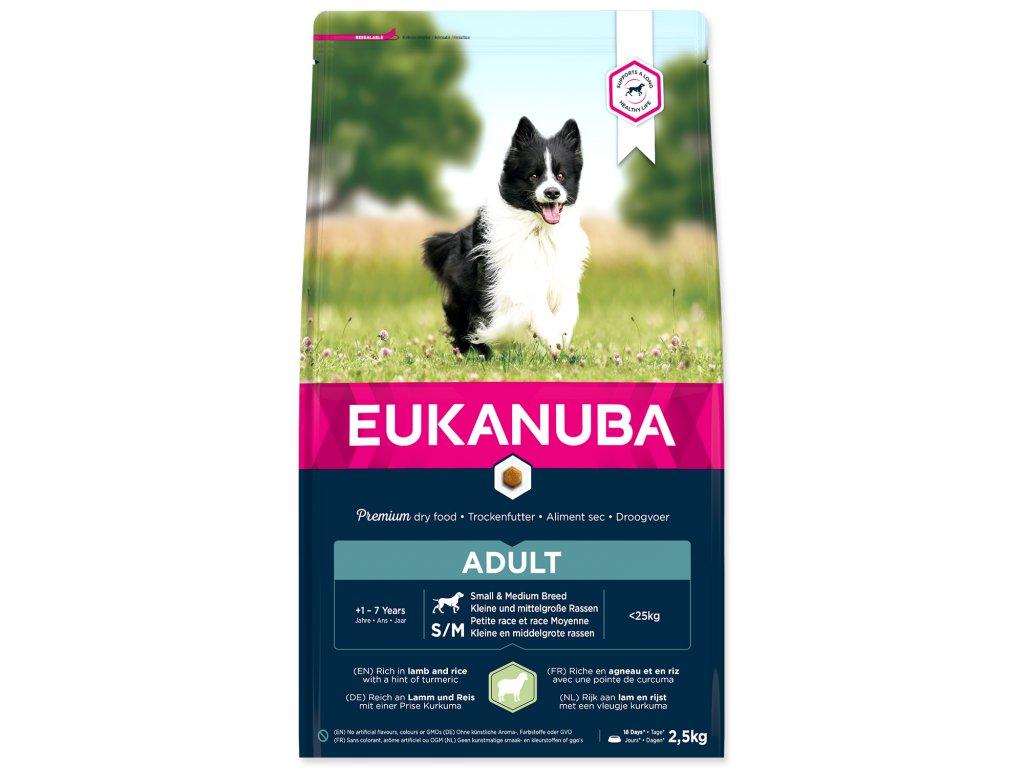 EUKANUBA Adult Small & Medium Lamb & Rice