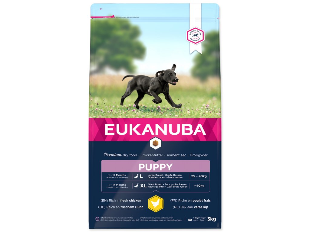 EUKANUBA Puppy & Junior Large Breed