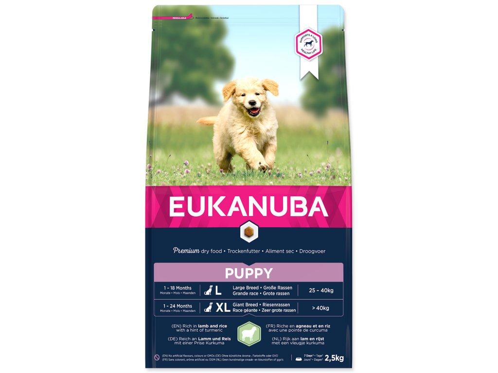 EUKANUBA Puppy & Junior Lamb & Rice