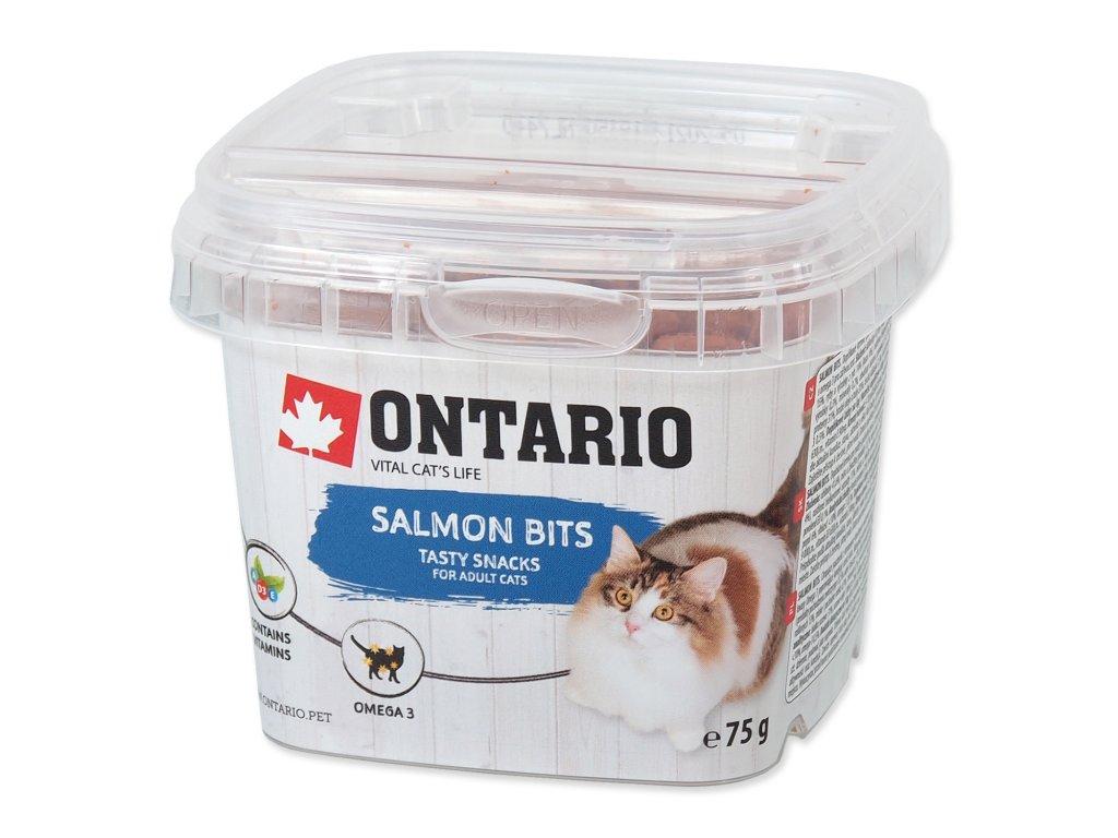 Snack ONTARIO Cat Salmon Bits