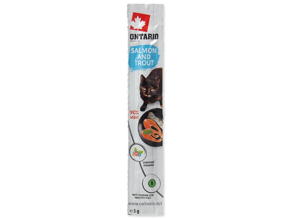 Stick ONTARIO for cats Salmon & Trout