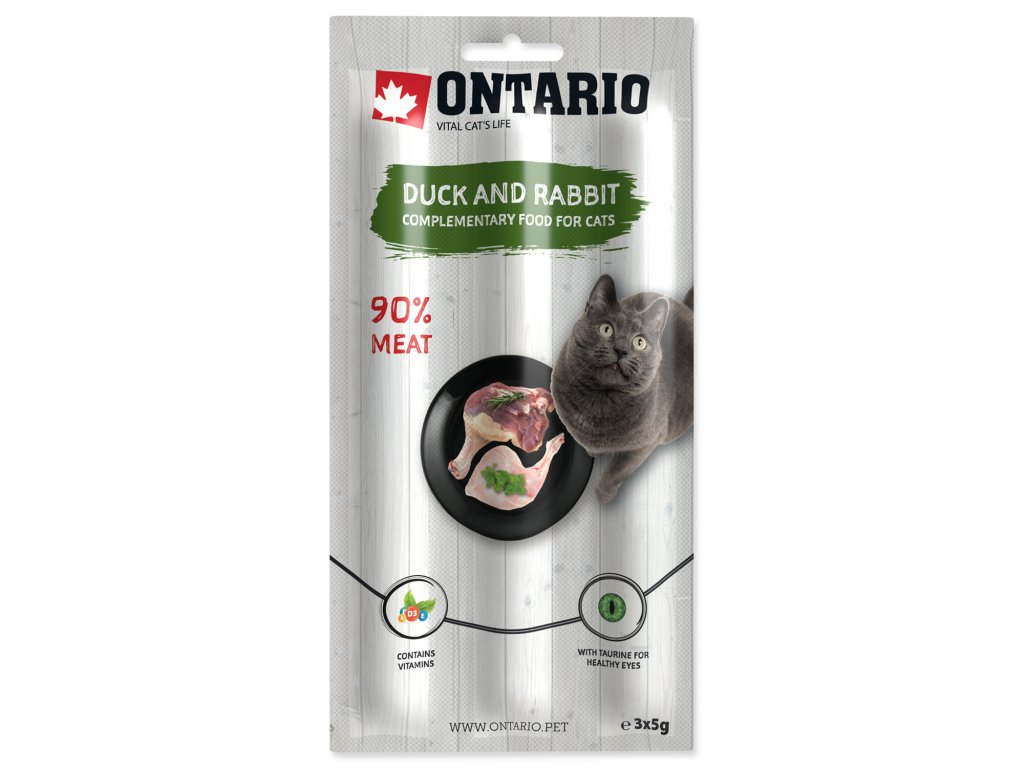 Stick ONTARIO for cats Duck & Rabbit