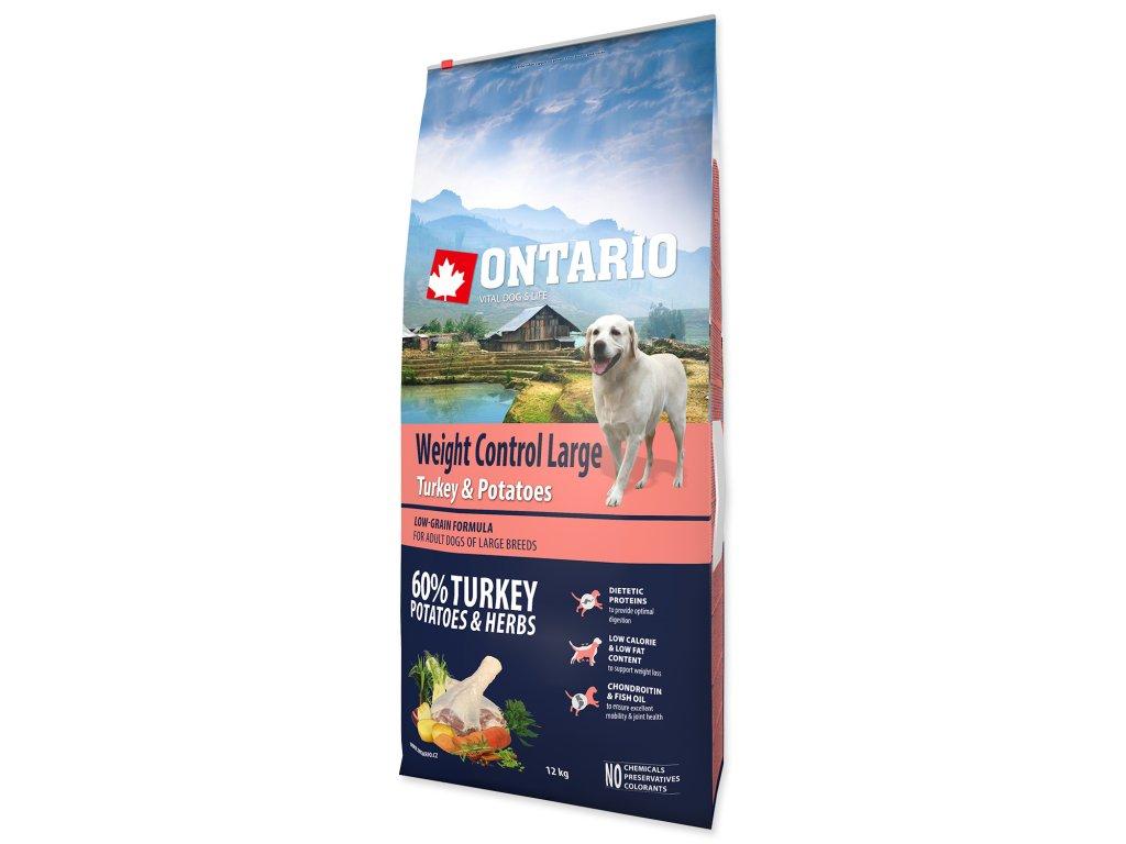 ONTARIO Dog Large Weight Control Turkey & Potatoes & Herbs