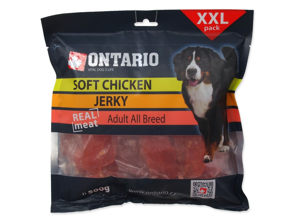 Snack ONTARIO Dog Soft Chicken Jerky