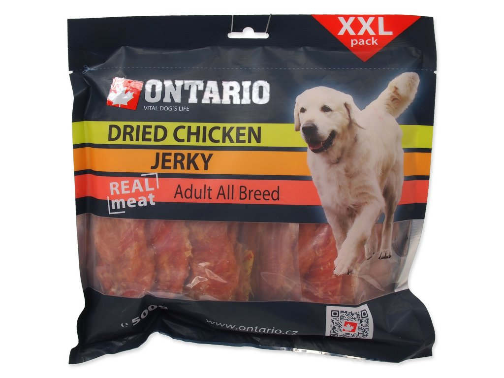 Snack ONTARIO Dog Dry Chicken Jerky