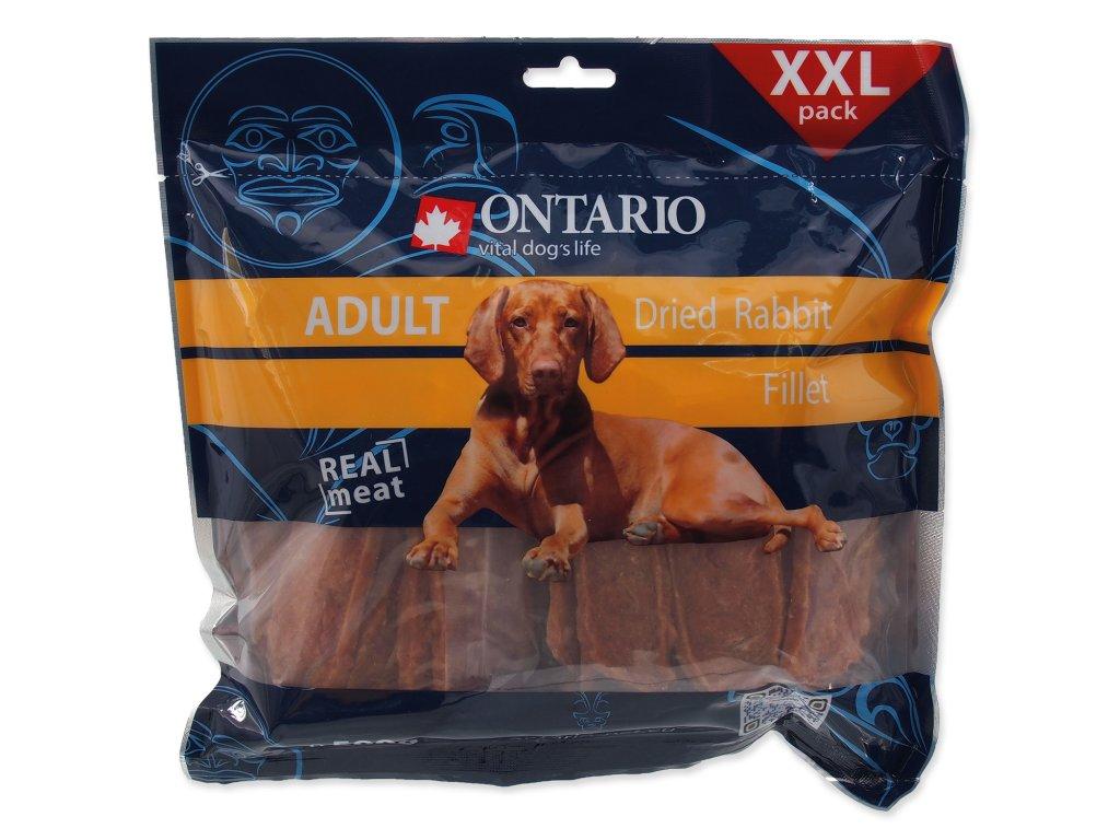 Snack ONTARIO Dog Dry Rabbit Fillet