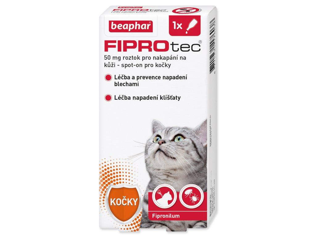 BEAPHAR Spot on Fiprotec pro kočky