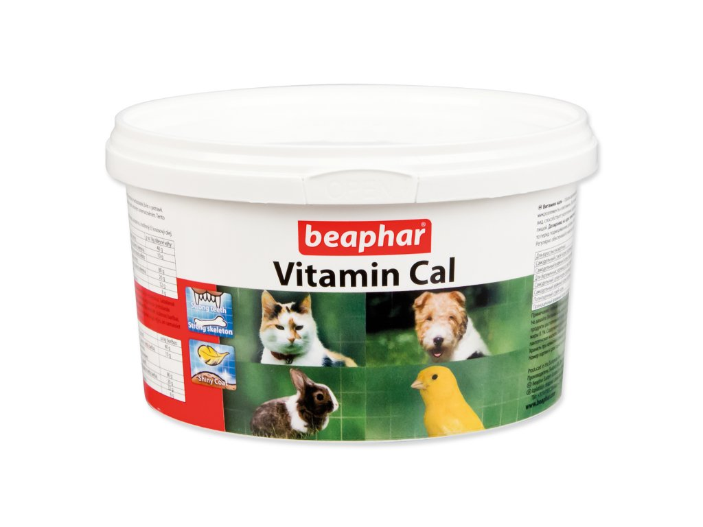 Doplněk stravy BEAPHAR Vitamin Cal