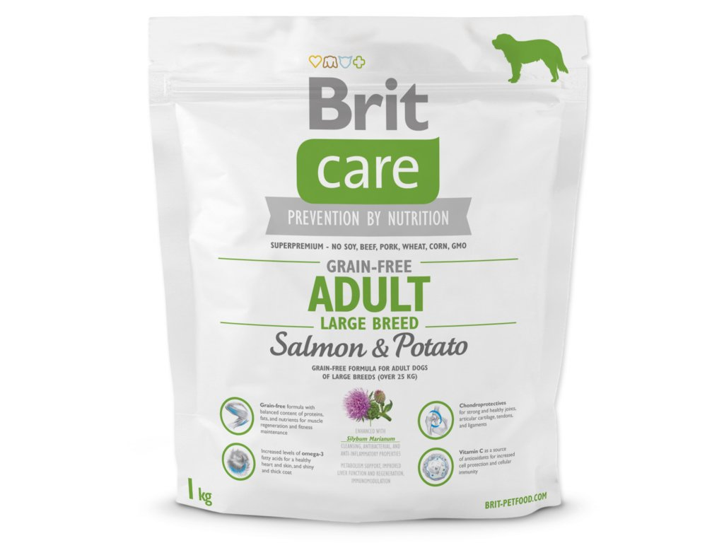 BRIT Care Grain-free Dog Adult Large Breed Salmon & Potato