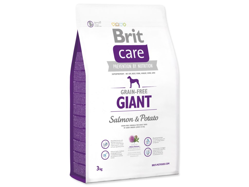 BRIT Care Grain-free Dog Giant Salmon & Potato