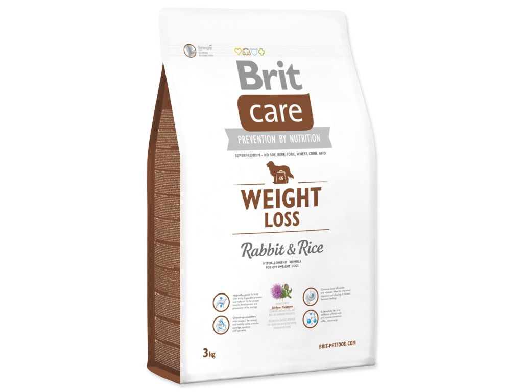 BRIT Care Dog Weight Loss Rabbit & Rice
