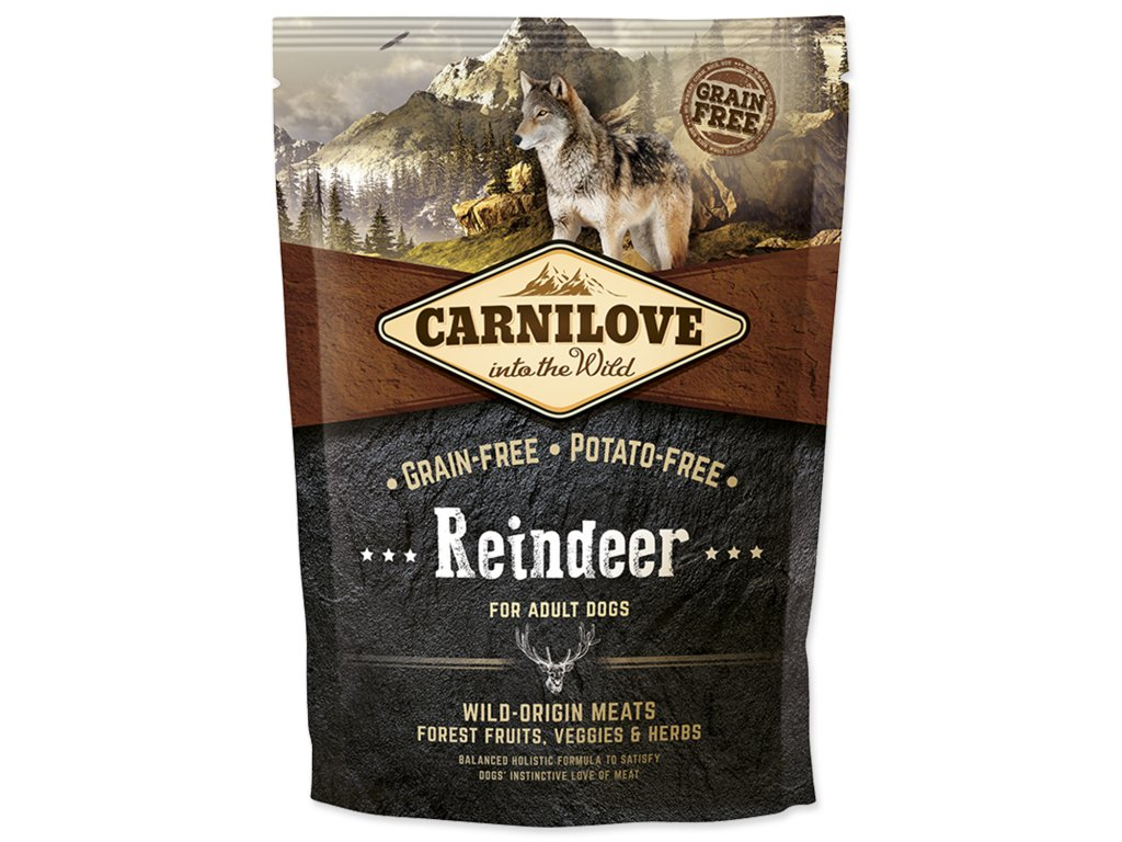 CARNILOVE Reindeer for Dog Adult