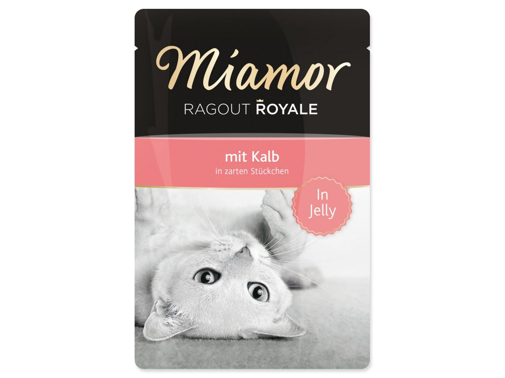 Kapsička MIAMOR Ragout Royale telecí v želé