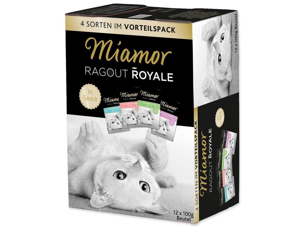 Kapsičky MIAMOR Ragout Royale ve šťávě multipack
