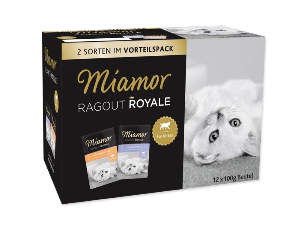 Kapsičky MIAMOR Ragout Royale Kitten v želé multipack