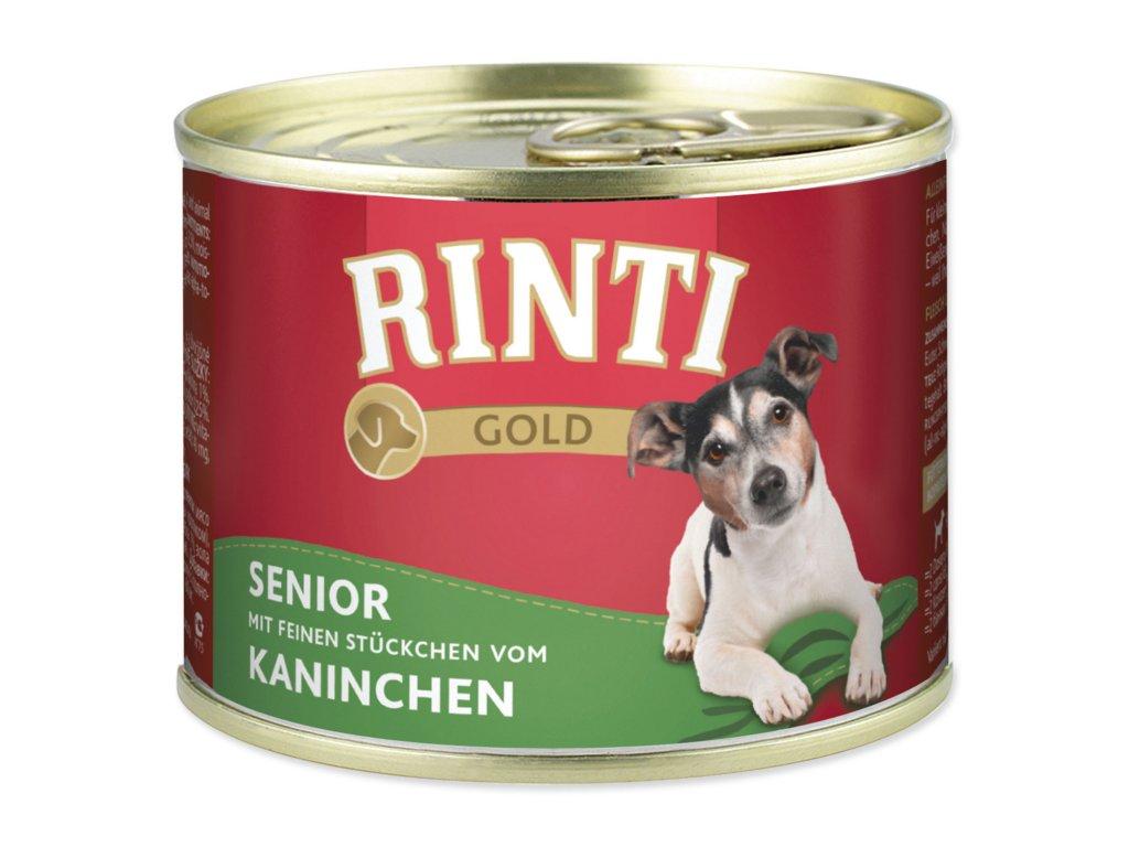 Konzerva RINTI Gold Senior králík