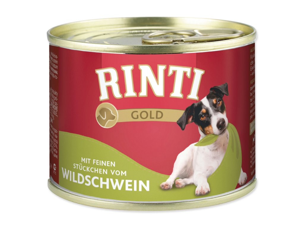 Konzerva RINTI Gold divočák