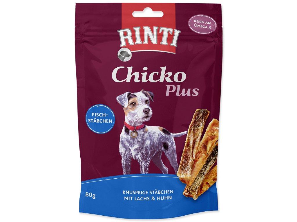 Pochoutka RINTI Extra Chicko Plus losos + kuře